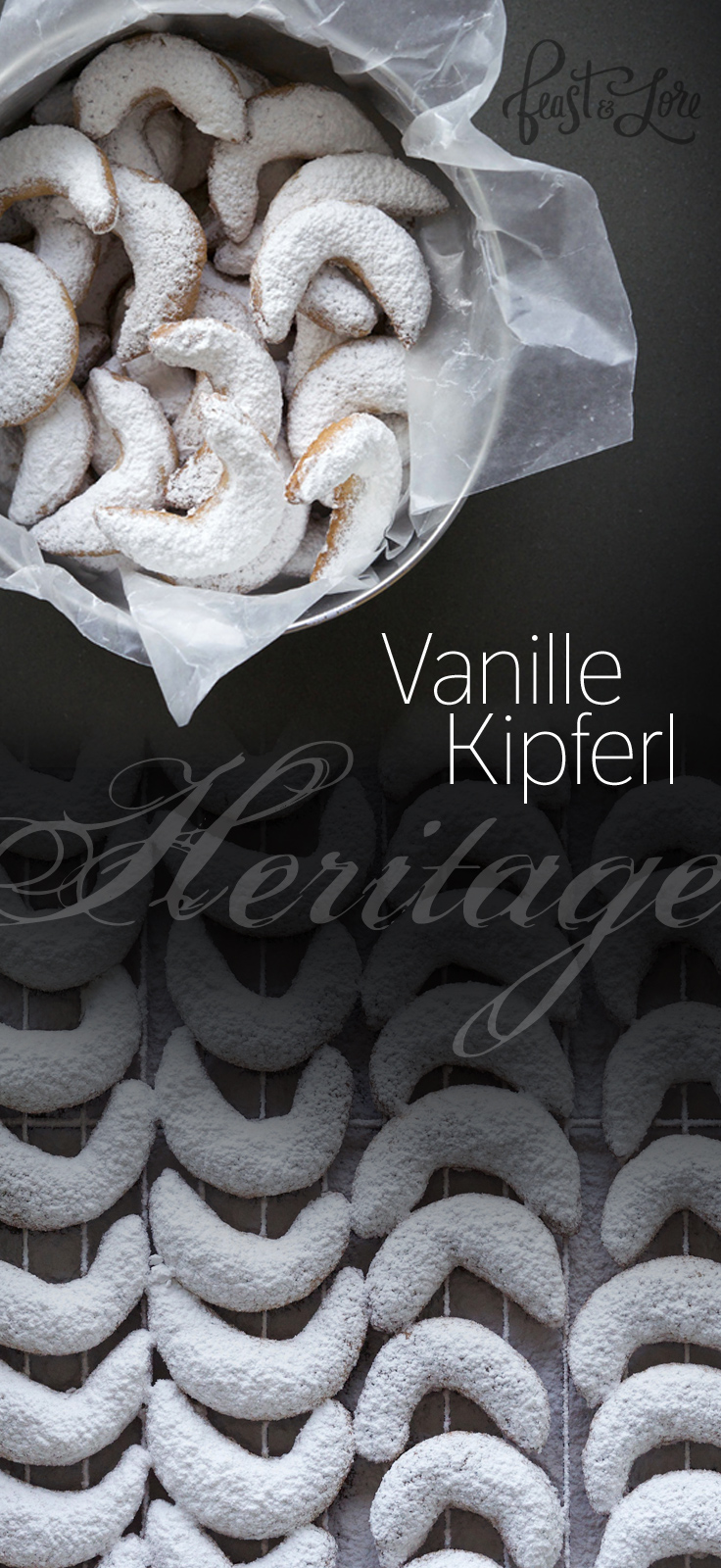 Vanillekipferl heritage recipe passed down from Grandma