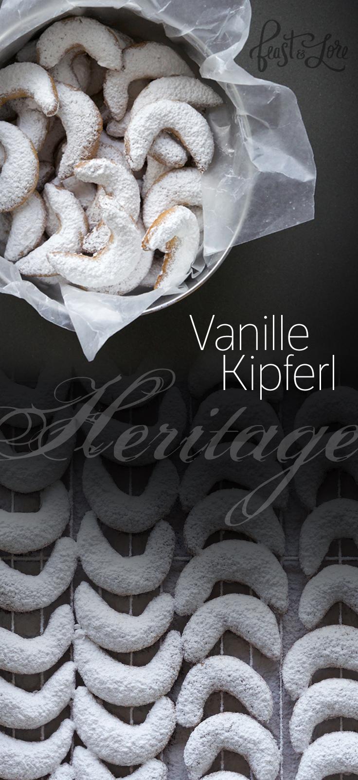 Vanillekipferl heritage recipe passed down from Grandma